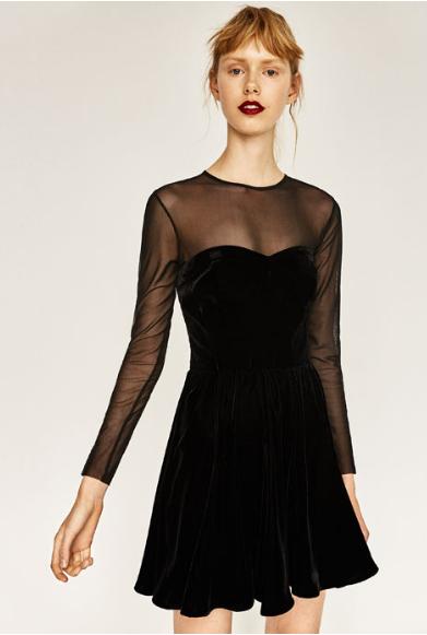nochevieja vestido terciopelo