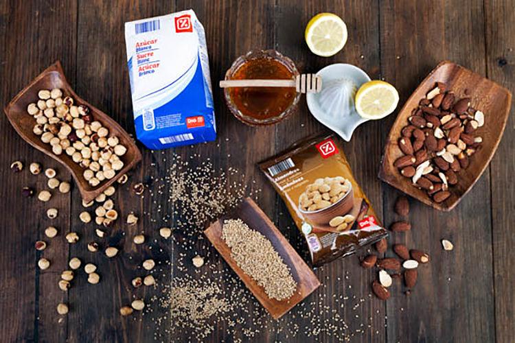 ingredientes de turron de almendras