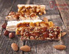 turron, almond honey bar