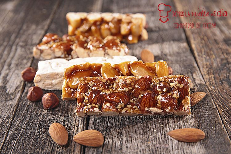 turron, almond honey bar