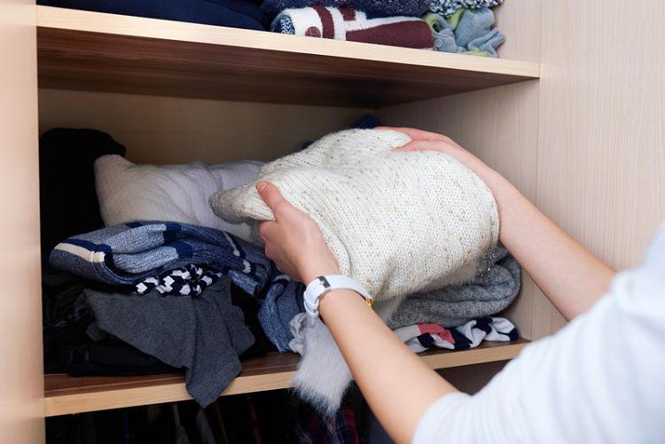 reorganizar tu ropa