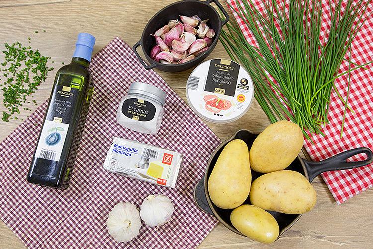 Patatas Hasselback ingredientes