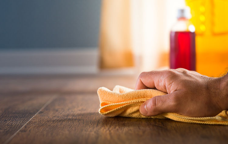 limpiar el suelo