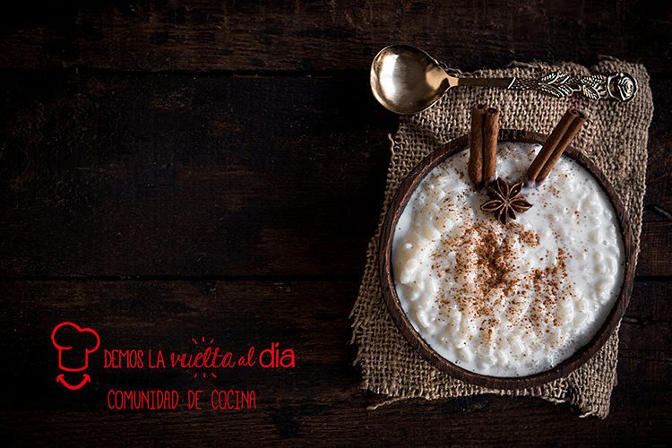 Arroz con leche sin lactosa
