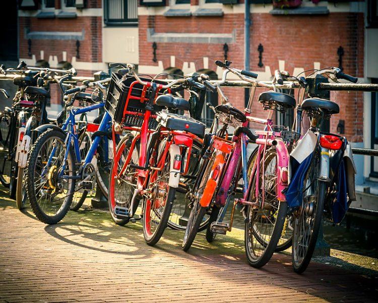 bicicleta en ciudad