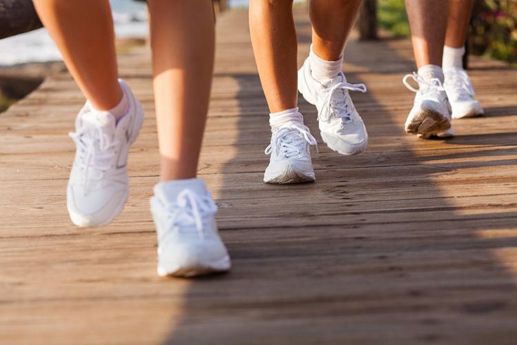 quemar calorias andando