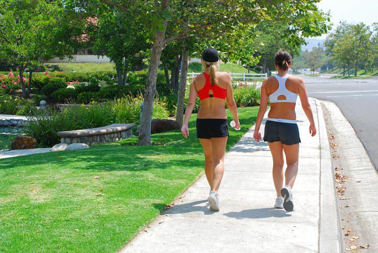 caminar calorías