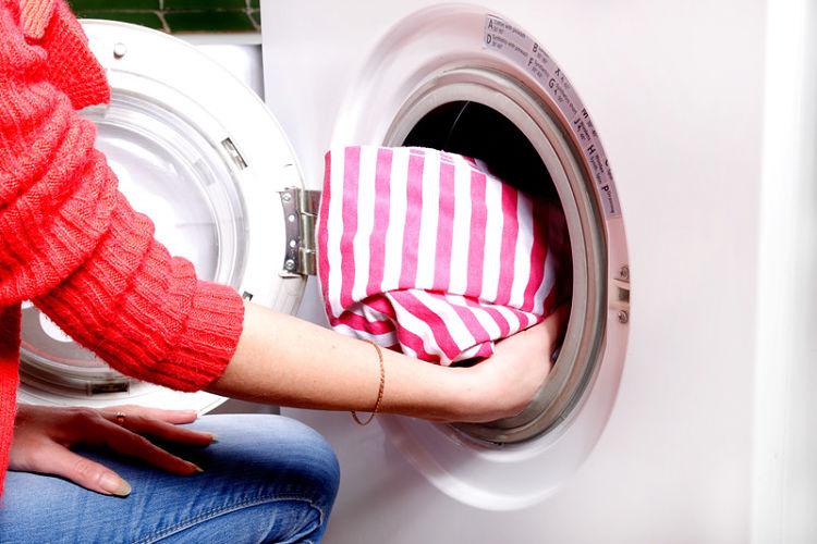 carga de la lavadora