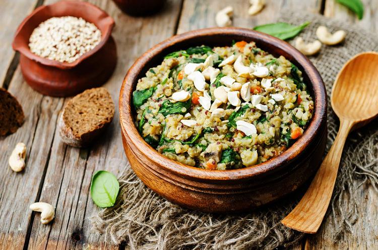 quinoa para el verano