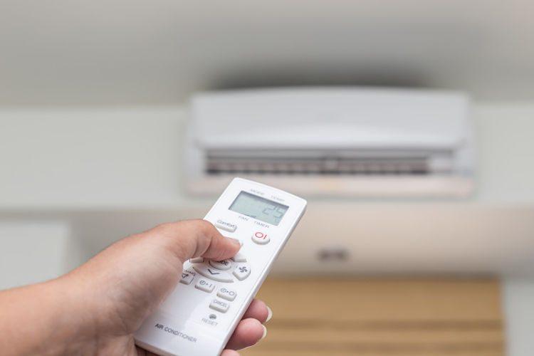La temperatura del aire acondicionado: resfriados de verano