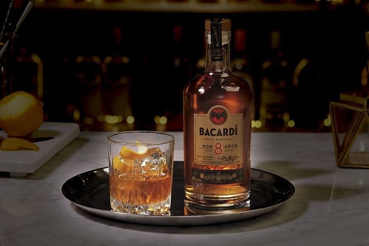Bacardí 8 Old-Fashioned