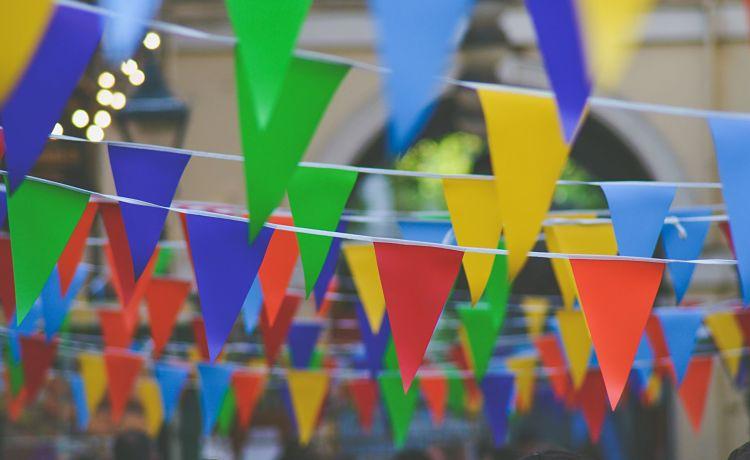 banderines carnaval