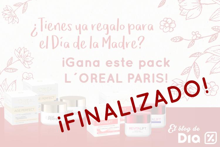 Sorteo Día de la Madre ¡Gana un pack L´OREAL PARIS para ella!