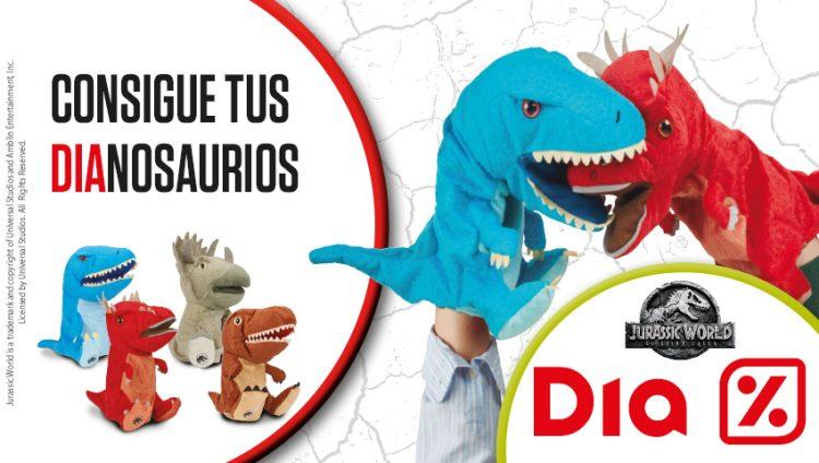 Jurassic World 2 llega a Día: ¡consigue tus DIAnosaurios!