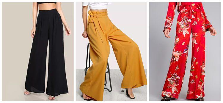 Pantalones Palazzo: también se llevan en otoño