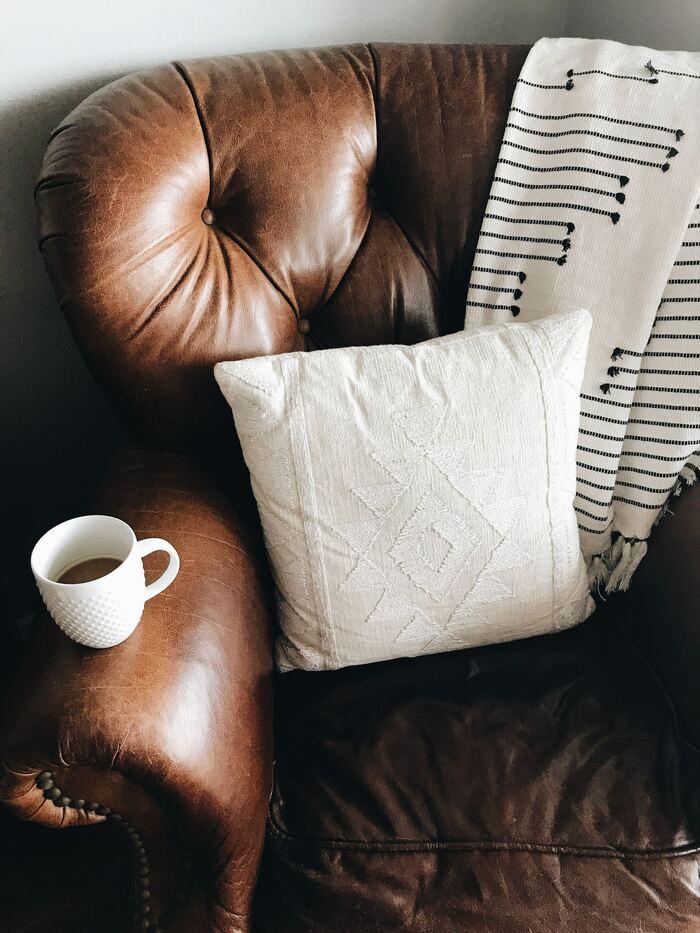 como limpiar sofa de piel