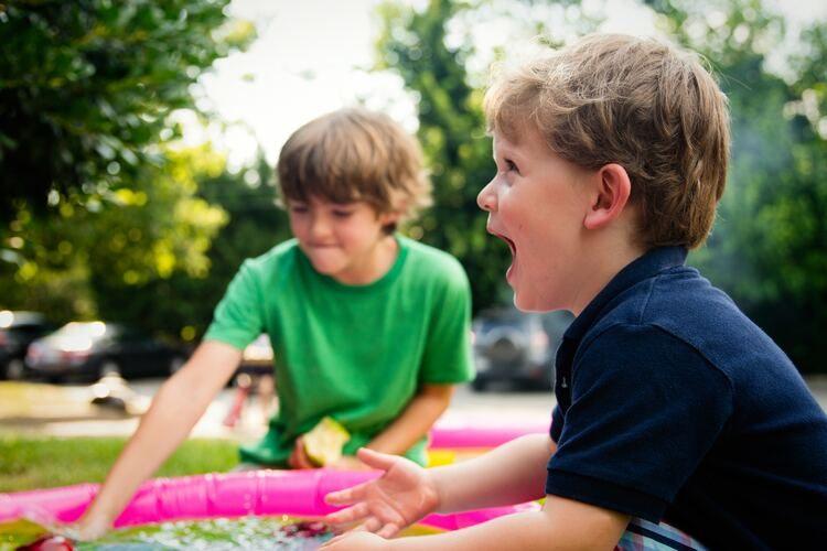 planes con niños en verano