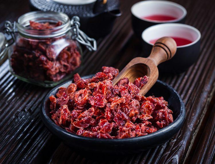 ¿Cuáles son las propiedades de los arándanos secos?