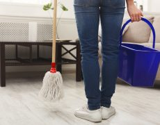 como limpiar tarima flotante