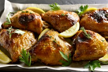 pollo al horno con limon