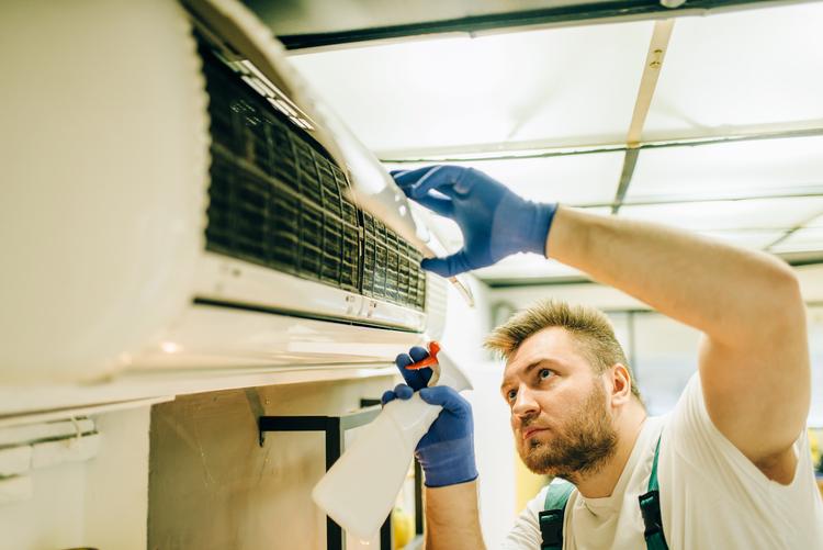 limpiar aire acondicionado