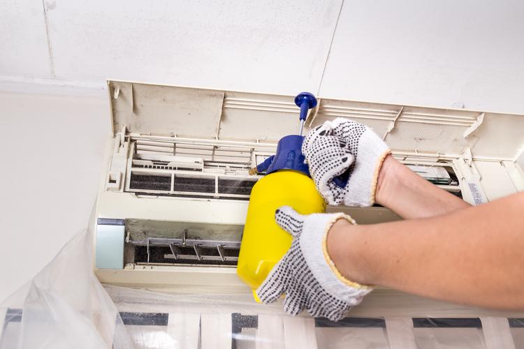 desinfectar aire acondicionado