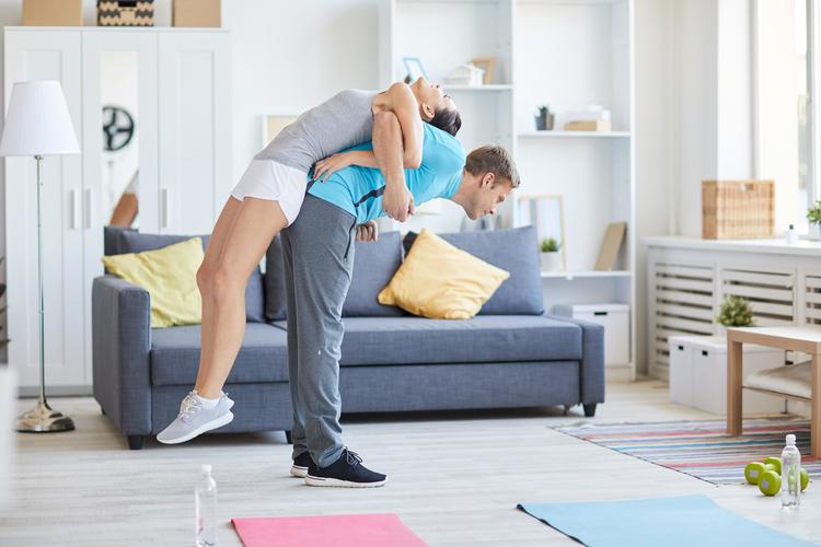 Rutina de ejercicios de espalda en casa