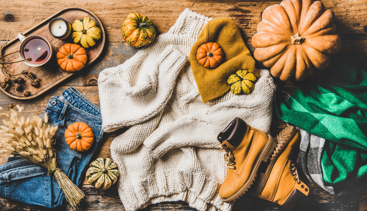 colores otoño invierno