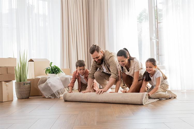 Cómo colocar alfombras en el salón: consejos y trucos