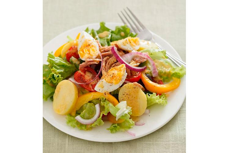 Receta tradicional de ensalada campera de patatas