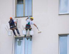 como pintar fachadas de casas