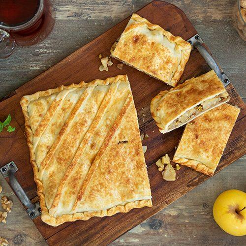 Empanada de manzana y frutos secos